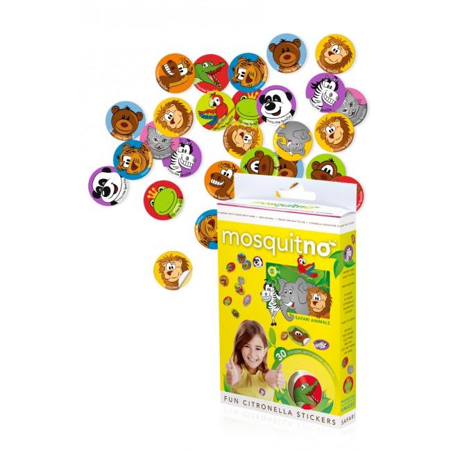 SpotZzz Stickers 30-pack Safari Animals
